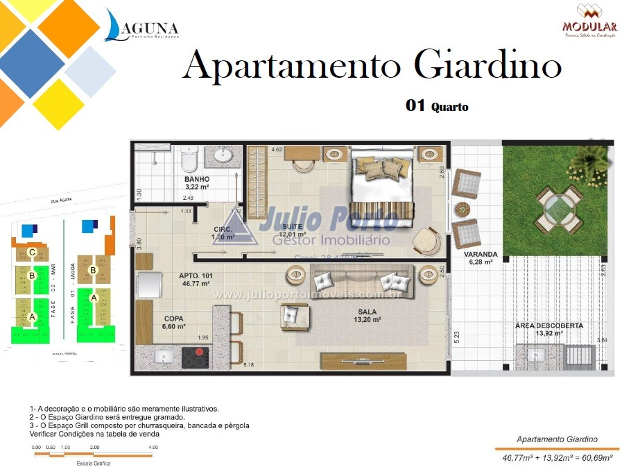 Apartamento Giardino -  Super Varanda