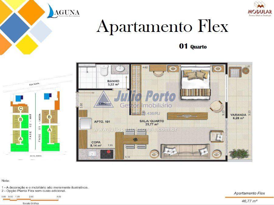 Apartamento Flex - Varanda