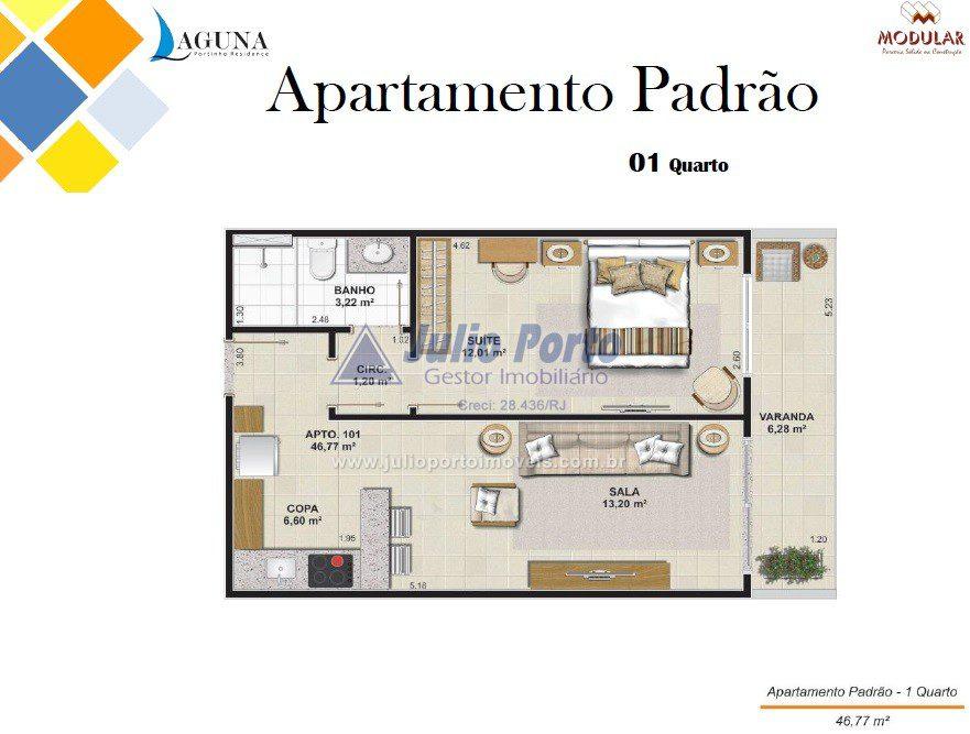 Apartamento Padrão - Varanda