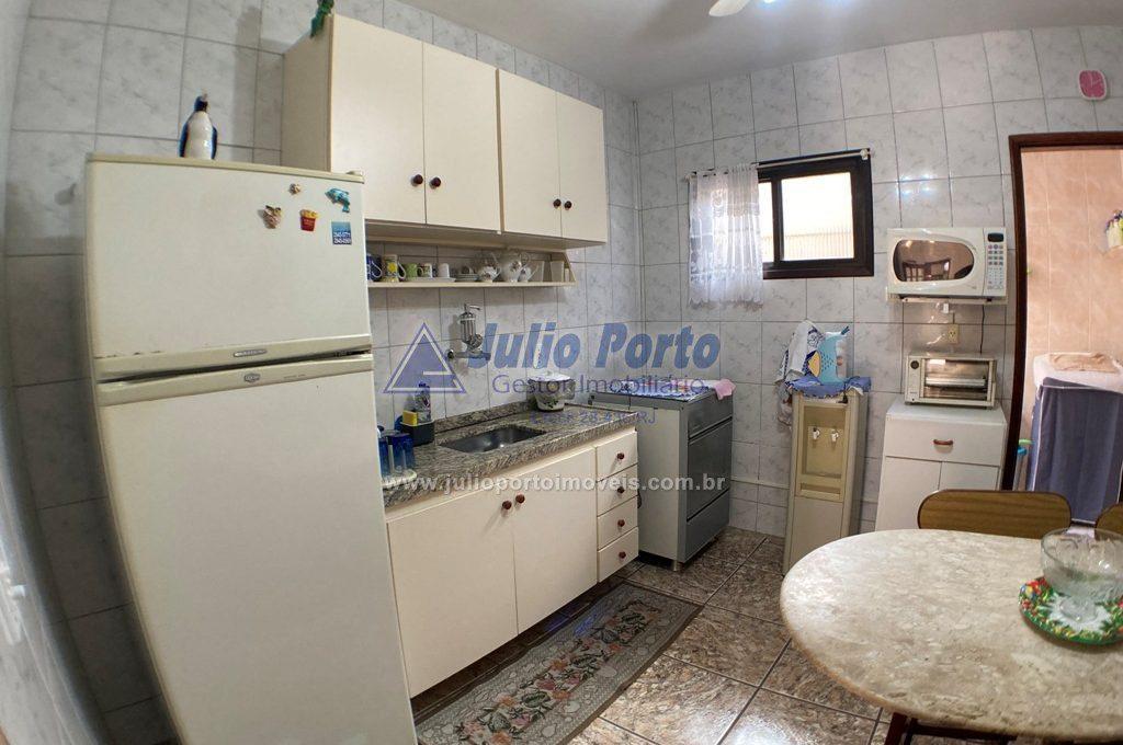 Cozinha com ventilador de teto