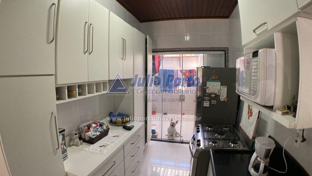 Cozinha e Área